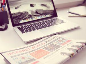 Webbtidning